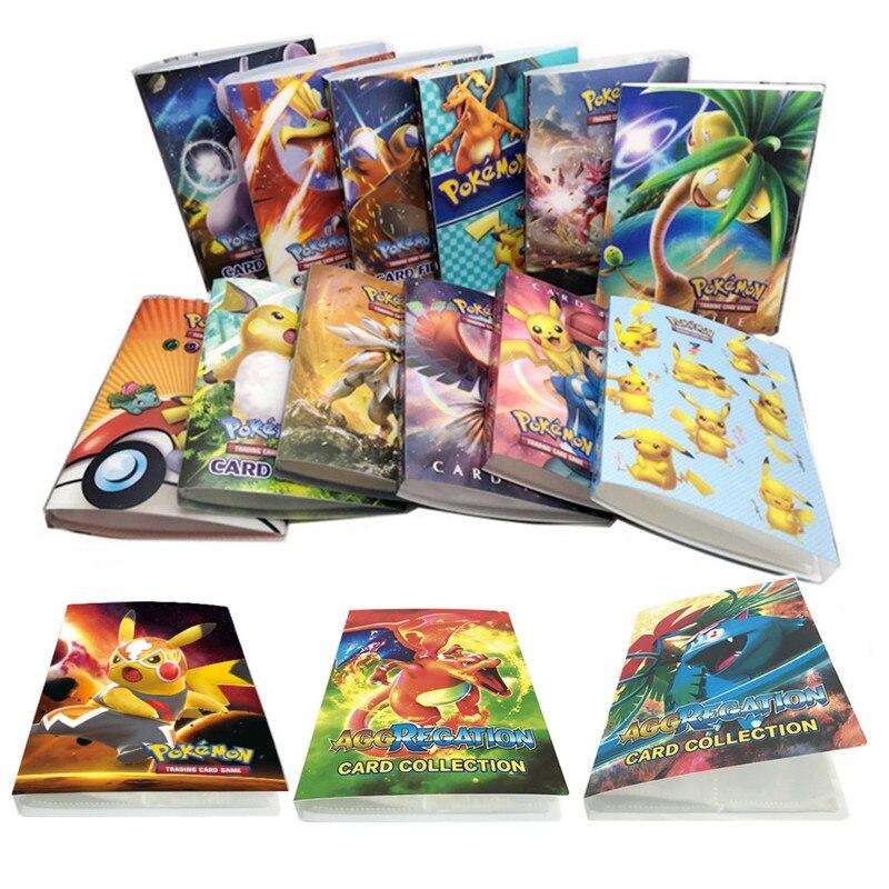 Коллекционный блокнот Pokemon держатель для карт 240 шт., игральные карты, альбом, держатель карт, новинка, подарок для детей