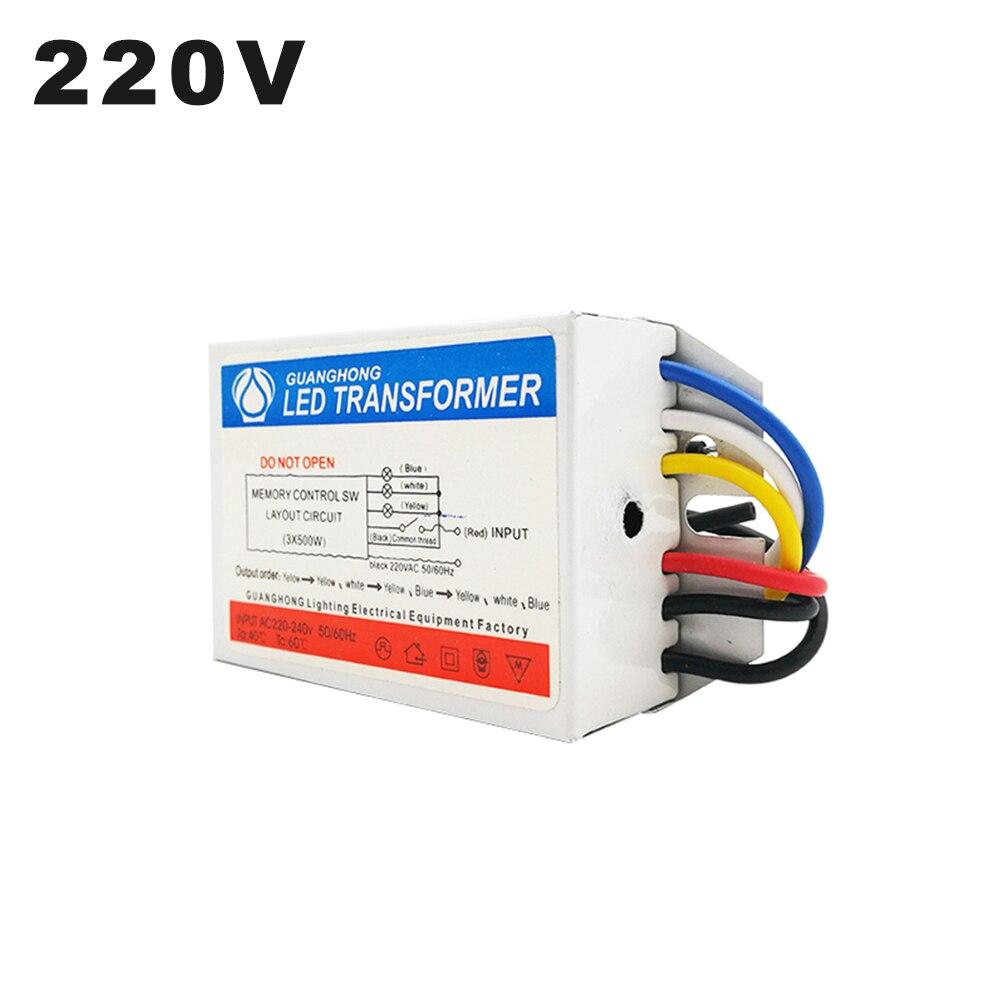 220V デジタルのサブセクションスイッチ 3 方法 500 ワット * 3 独立制御部スイッチ 2 の方法 500 ワット * 2 区分的スイッチ天井ランプ
