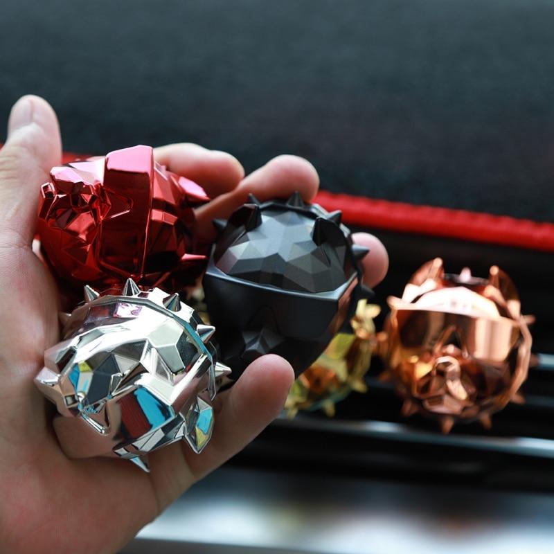 2020 New Car Air Freshener Perfume Clip Interior Perfume Fragrance Bulldog Aroma Diffuser Ventilation Gifts