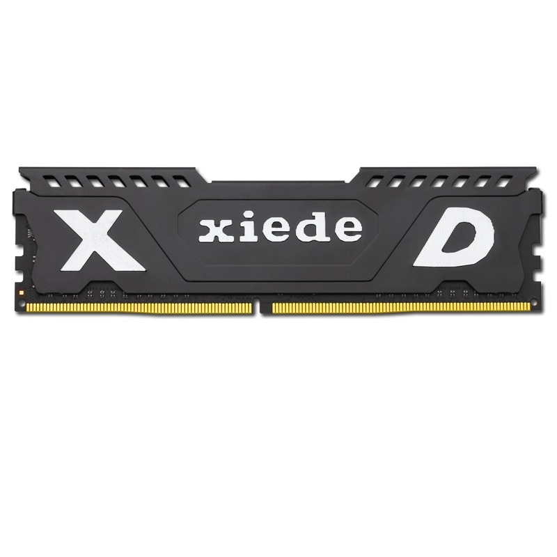 Módulo de memoria RAM de ordenador de escritorio Xiede Ddr3 1600 4GB PC3-12800 240Pin DIMM 1600mhz con disipador de calor para AMD/Inter X067