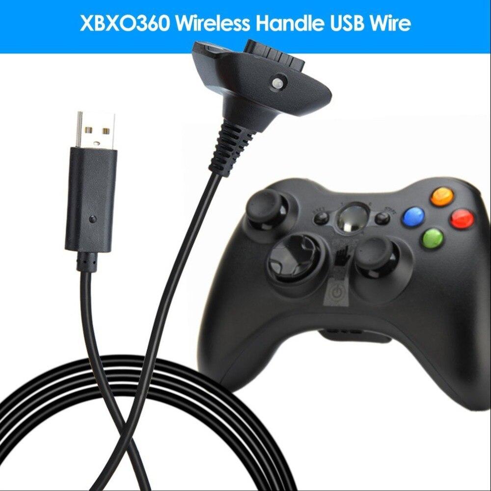 Cable de carga USB de 1,5 m para Xbox 360, controlador de...
