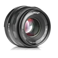 Meike 35mm f1 4 Manual Focus lens for Nikon Z Mount Z5 Z6 Z7 Z50  for Canon EF-M Mount M3 M6 M50 M100 Mirrorless Camera   APS-C