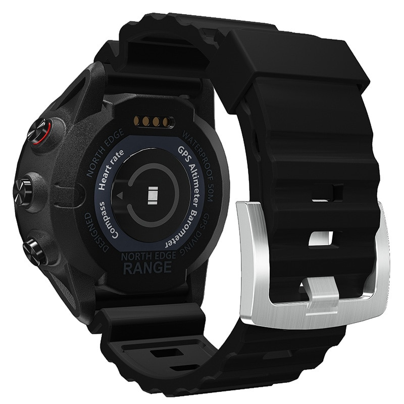 North Edge Range New Men's Sports Fashion Multifunctional Pedometer Bluetooth Heart Rate Detection Smart Watch enlarge