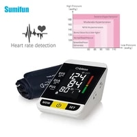arm blood pressure monitor smart mini sphygmomanometer armtype medical digital lcd family use automatic tonometer health care