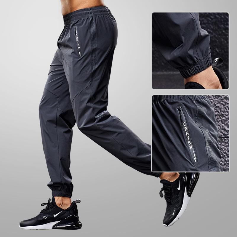 Quick Drying Sport  Pants Men Running Pants With Zipper Pockets Training  Joggings Men Pants Soccer Pants Fitness Pants For Men