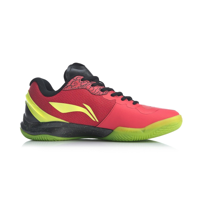 Мужская обувь для бадминтона Li-Ning профессиональная обувь для соревнований по бадминтону с подкладкой li ning спортивная обувь AYAP013-2