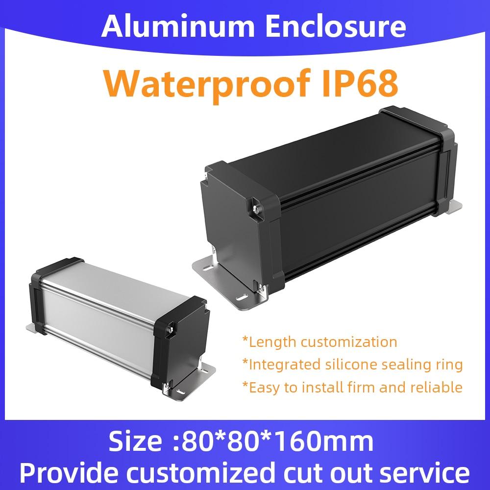 حاوية من الألومنيوم المقوى Ip67 مقاوم للماء Powerbank صندوق تصنيع خدمة مخصصة M09 125*60 مللي متر