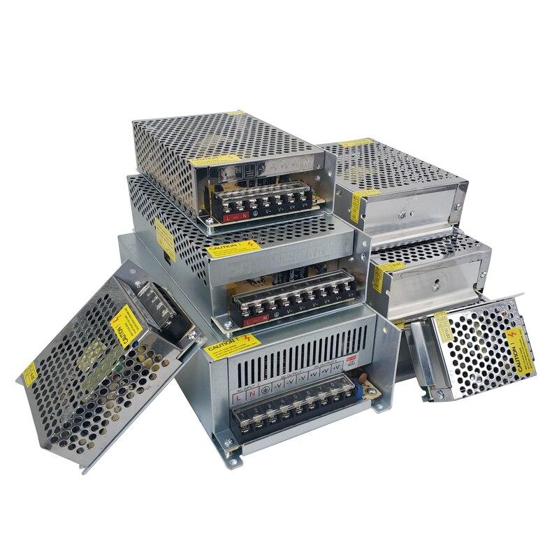 Power Supply 24V 1A 2A 3A 5A 10A lighting Transformers 24 V Volt LED Driver 220v to 12v Adapter