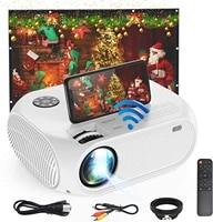 Derniere HD Mini projecteur TD90 natif 1920x1080P LED Android WiFi projecteur video Home Cinema 3D HDMI-compatible film jeu