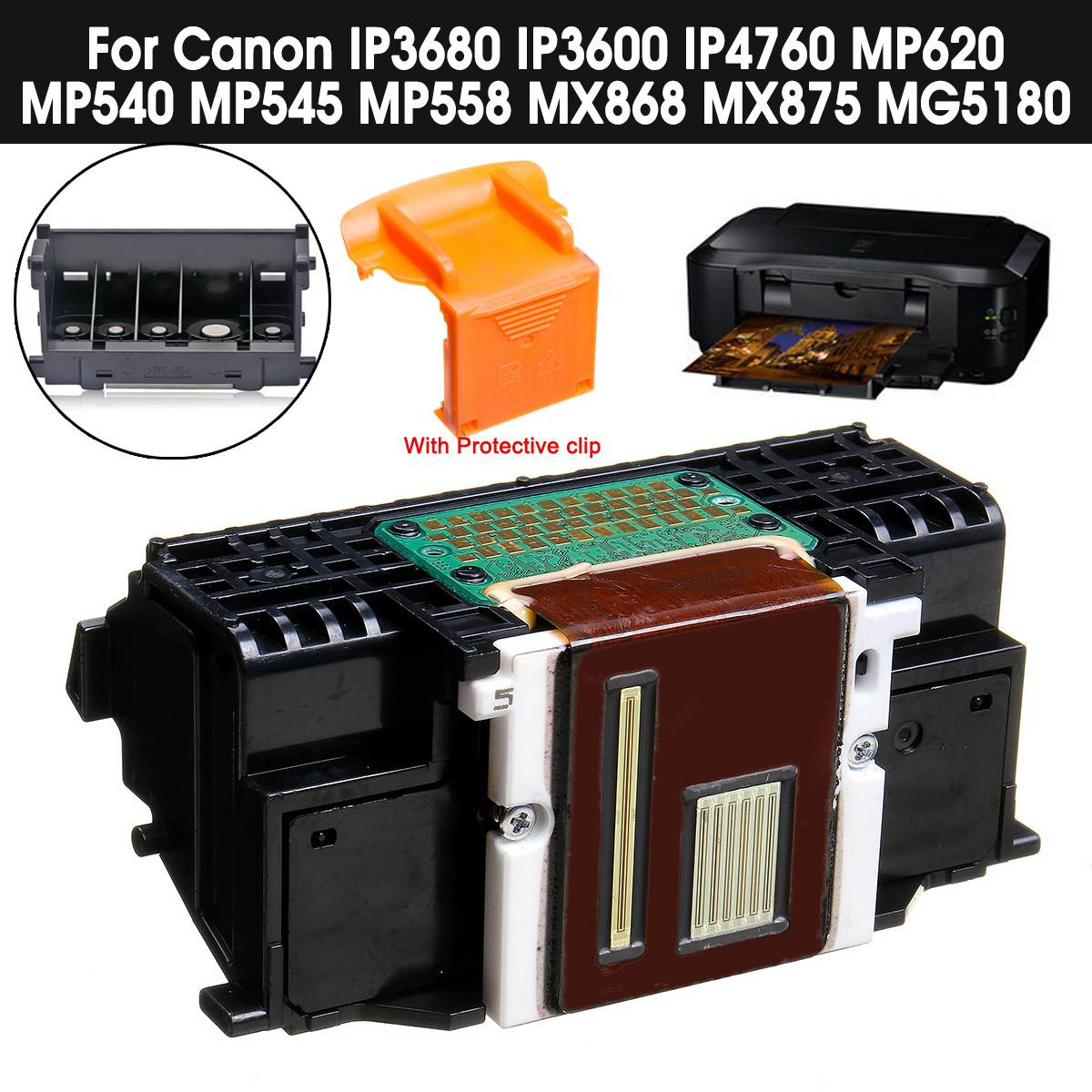 LEORY QY6-0073 מדפסת ראש ההדפסה ראש מדפסת חלקי אביזרי עבור Canon iP3600 iP3600 MP540 MP558 MX875 MX868 MG518