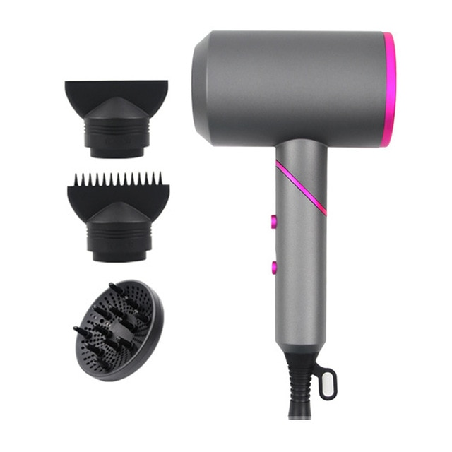 Dryer Hot Cold Wind Air Brush Hairdryer Strong Power Dryer Salon Style Tool enlarge
