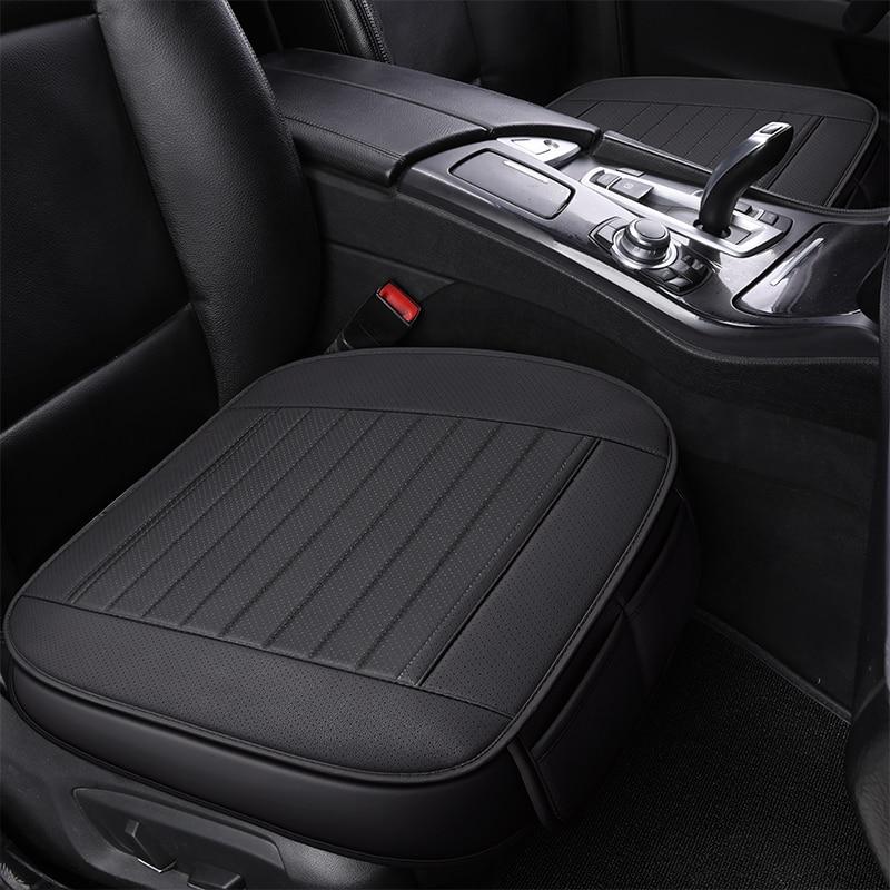 Fundas de asientos de coche de cuero ecológico de cobertura completa, fundas de asiento de cuero PU para ford kuga mk2 mondeo mk3 mk4 ranger s-max smax