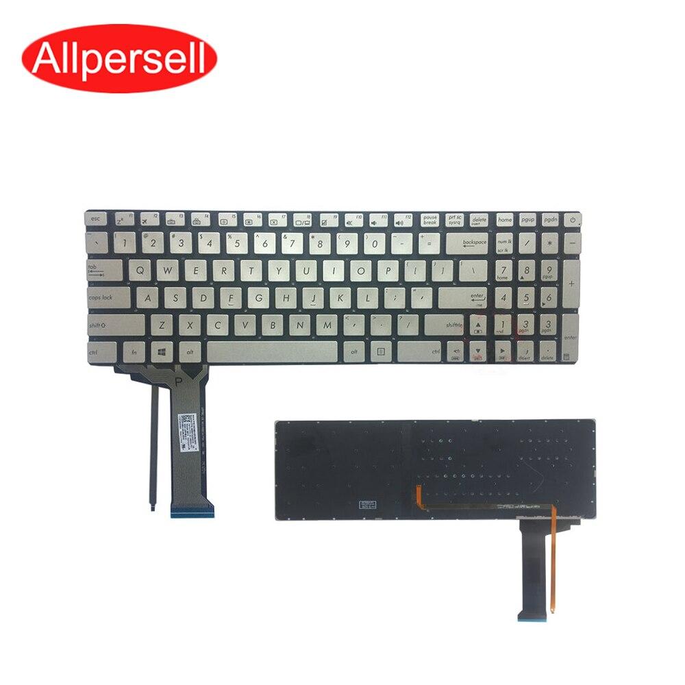 لوحة المفاتيح لابتوب ASUS N751 N751J N751JK N751JU N751JM G551VW N551 استبدال لوحة المفاتيح