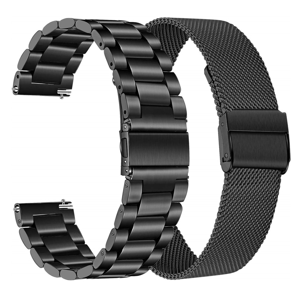 Metal Strap For Huawei Watch GT 2E GT2 46MM Honor Magic 2 46 Smart Band Bracelet Steel Straps For TicWatch Pro Wristband Correa silicone leather watchband for huawei watch gt gt2 46 honor magic 2 46mm watch band wrist strap bracelet belt for ticwatch pro