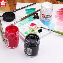1 ud. Póster Sakura colores 30ml/45ml pigmento de desgomado Gouache pintura de diseñador Color artista pintura suministros 15 Color opcional