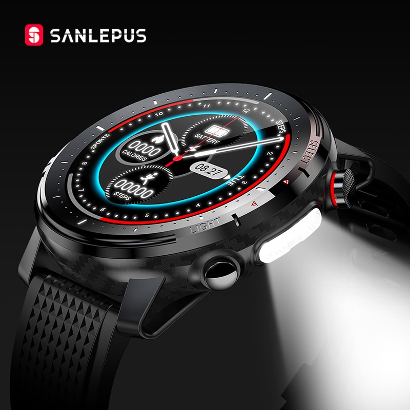 SANLEPUS ساعة ذكية 2021 ECG ساعة ذكية IP68 مقاوم للماء الرجال النساء الرياضة اللياقة البدنية سوار ساعة أندرويد أبل هواوي SW15