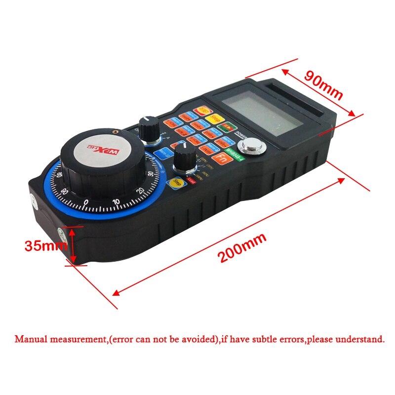 CNC part MPG Mach3 wireless handwheel for cnc router controller WHB04B-4 WHB04B-6 enlarge