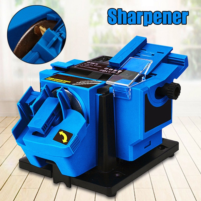 Professional Electric kitchen Knife Sharpener Motorized Rotating Sharpening Stone Tool 96W/65W for Scissor недорого