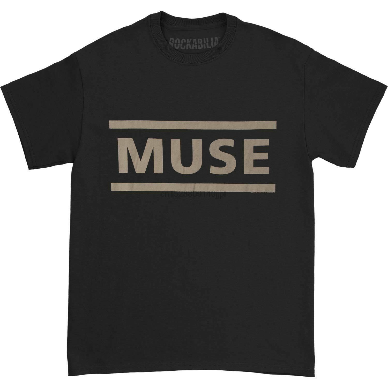 Muse Mens Clean Logo T-shirt Small Black