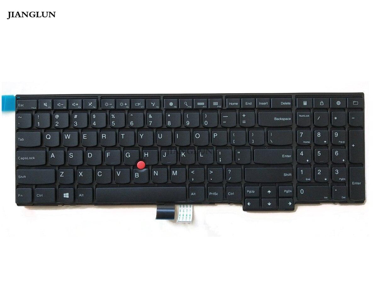 JIANGLUN لوحة المفاتيح لابتوب لينوفو T540 T540P W540 E531 E540 04Y2348