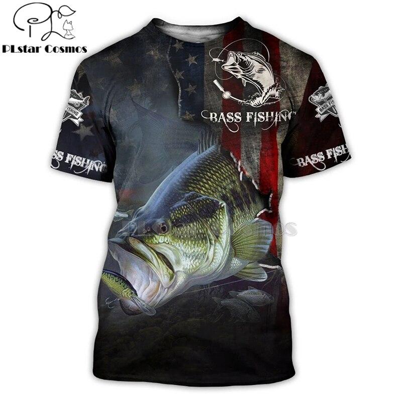 2020 New Fashion Men hoodies 3D Print t shirt New carp Fashion Animal Fishing Art t shirt tees shorts sleeve Apparel Unisex -1