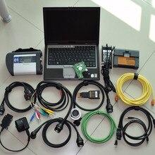 Outil de diagnostic 2 en 1 mb star c4   Et pour bmw icom a2 en 1 to hdd, dernier diagnostic logiciel installé sur d630, kit complet dordinateur portable 4 go