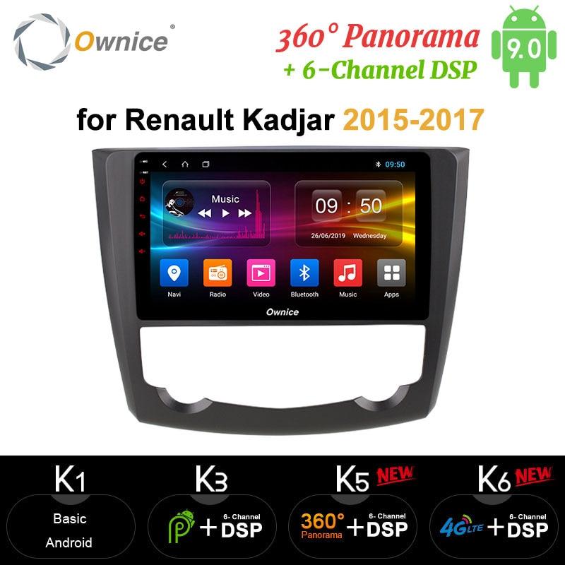 Ownice DSP carplay octa-core Android 9,0 64G ROM Auto DVD player GPS Audio Navigation DAB + 4G LTE für Renault Kadjar 2015 - 2017