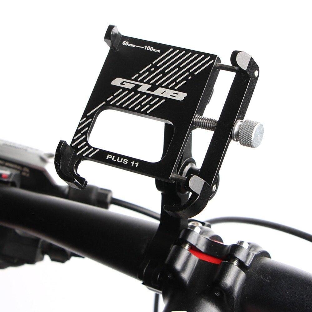 GUB de aluminio bicicleta soporte para teléfono 3,5-7 pulgadas para móvil teléfono Multi-ángulo giratorio motocicleta bicicleta del montaje del manillar de apoyo