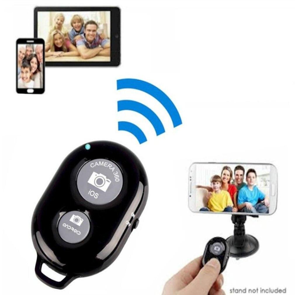 Wireless Shutter Release Button For Selfie Accessory Camera Controller Adapter Photo Control Bluetoo