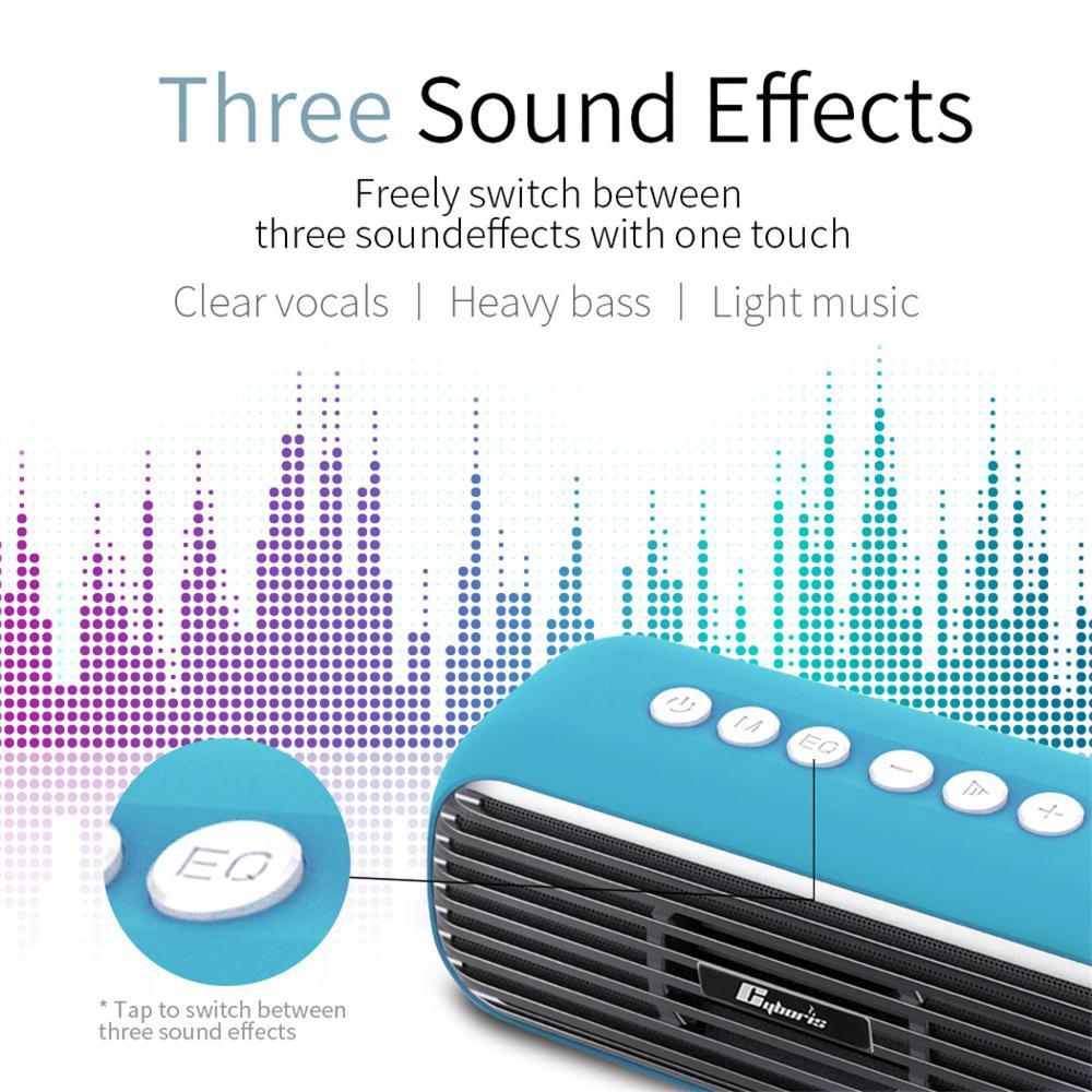 YOUXIU 40W High Power Wireless Bluetooth Speaker Heavy Bass Column Soundbar Portable Loudspeaker Subwoofer Music Center Boombox enlarge
