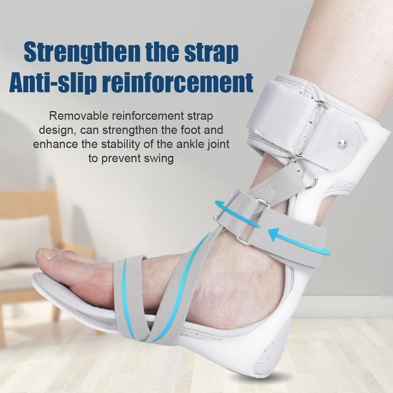 Ankle Foot Drop AFO Brace Orthosis Splint Leaf Spring Recovery Equipment Injection Molded Left Right