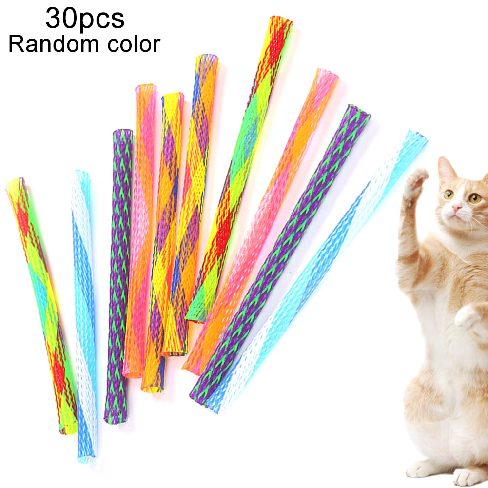 30 шт., Весенняя игрушка для кошек Игрушки для кошек      АлиЭкспресс