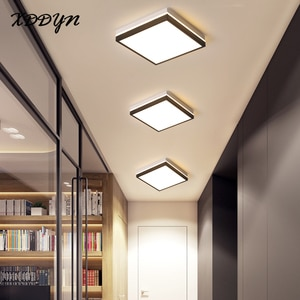 Modern minimalism rectangle/square/round LED ceiling light for living room bedroom aisle balcony corridor acrylic ceiling light