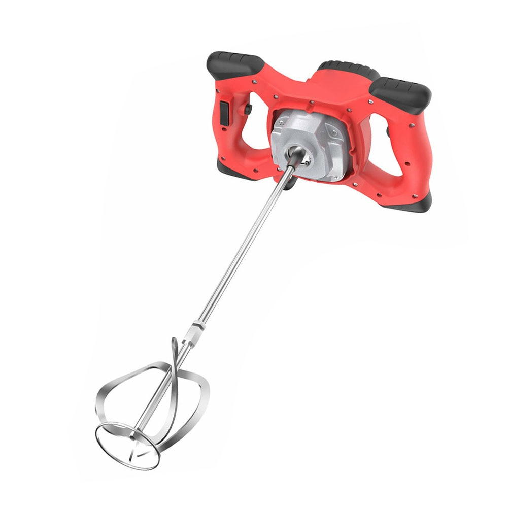 New 2100W Electric Concrete Cement Plaster Handheld Drill Mixer Stirring Tool Electric Mortar Mixer Putty Powder Mixing Machine