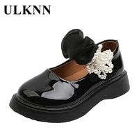 children water proof leather shoes kids fashion princess sandals baby girl flats slip party wedding mary jane shoes sweet 3 8y