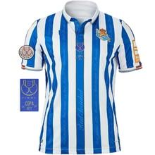 2021 Real Sociedad Sweatshirt OYARZABAL SILVA Men's Short Sleeve T-Shirt Training Suit