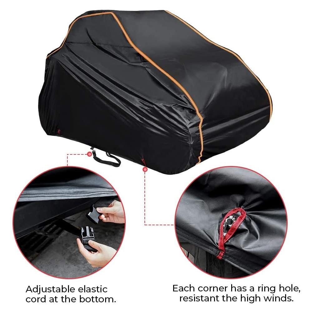 KEMIMOTO-غطاء تخزين السيارة العالمي UTV ، حقيبة تخزين لـ Can Am Maverick X3 X RS DS Canam 2015 -2021 2018 2019