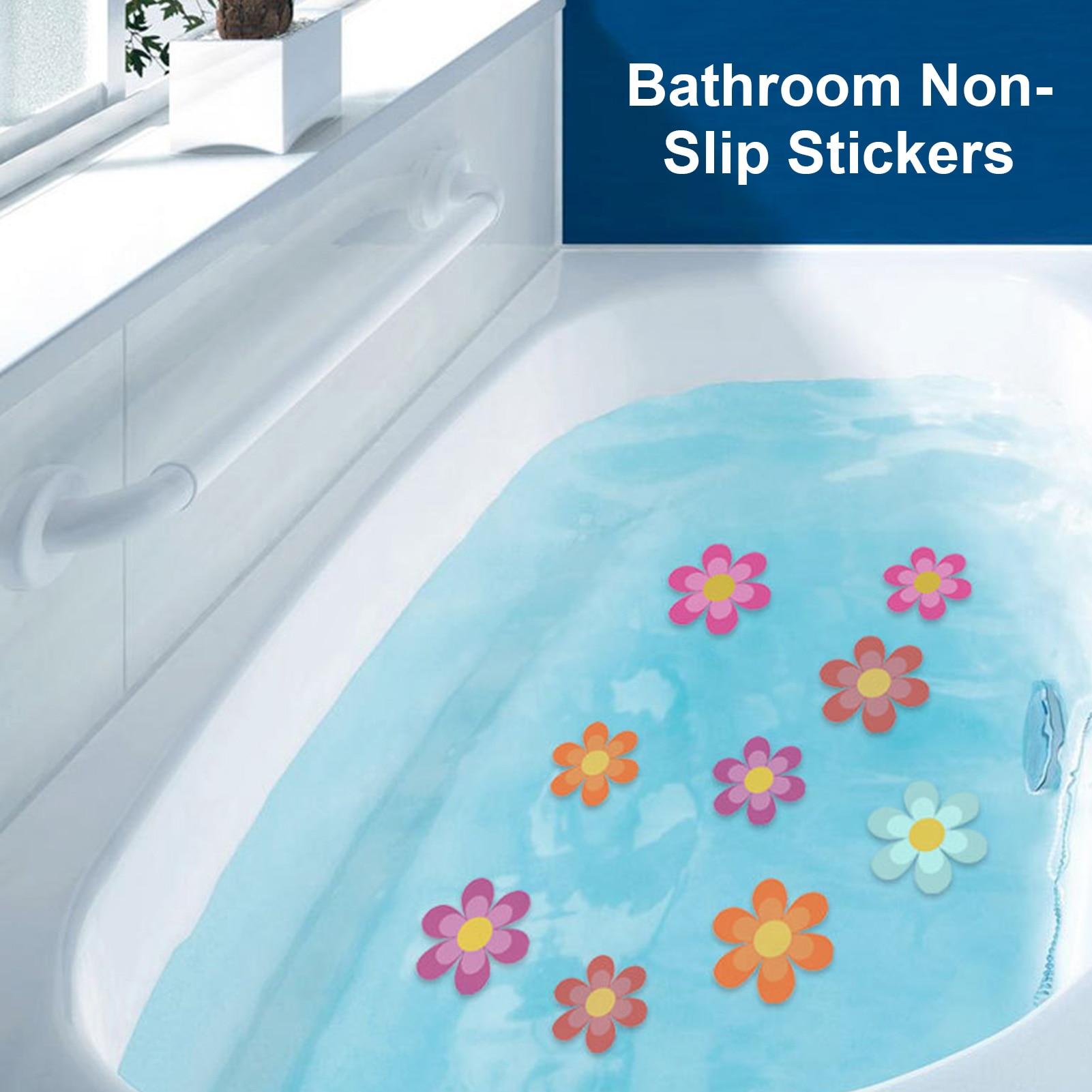 Антискользящая наклейка с подсолнухом для ванны, креативная матовая самоклеящаяся противоскользящая наклейка «сделай сам» с цветочным уз...