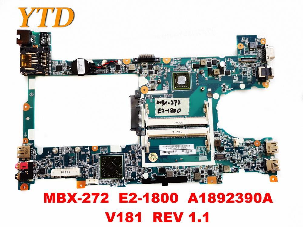الأصلي لسوني MBX-272 اللوحة المحمول MBX-272 E2-1800 A1892390A V181 REV 1.1 اختبار جيد شحن مجاني