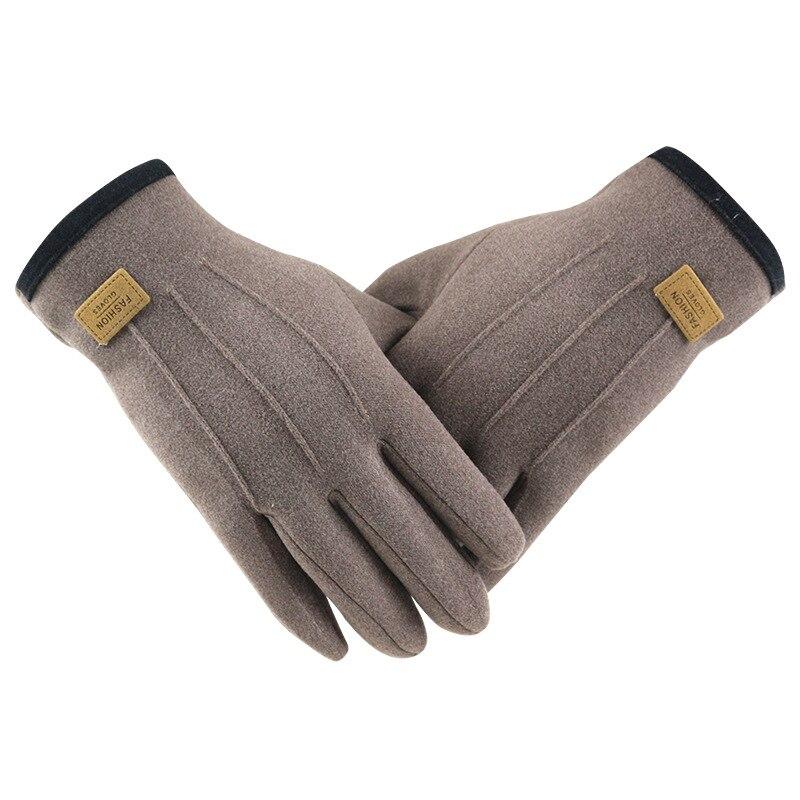 Женские зимние перчатки, теплые флисовые ветрозащитные флисовые мужские мотоциклетные велосипедные перчатки для вождения с сенсорным экр...