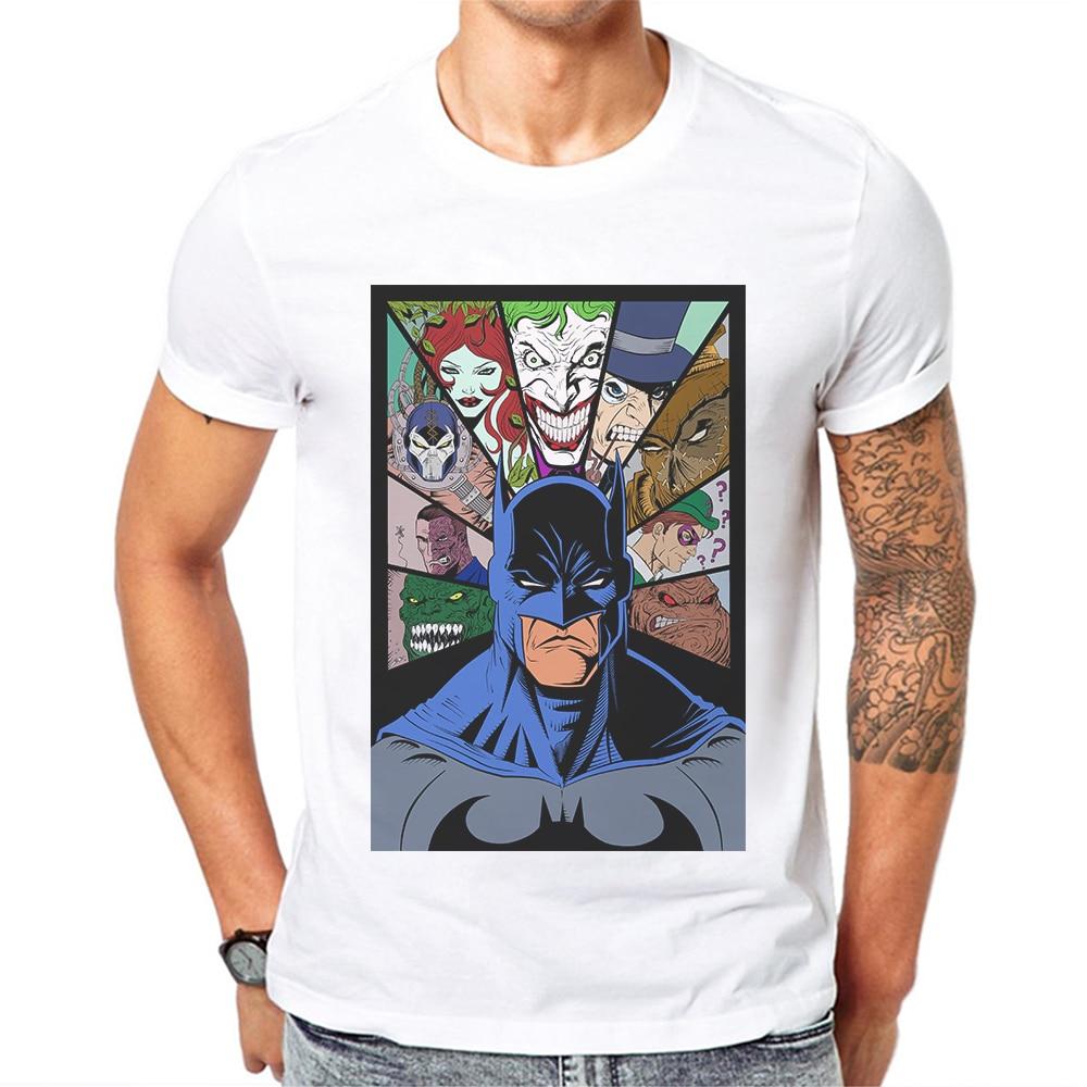 Camiseta masculina de algodão, estampada, gola redonda, manga curta, hip hop, design de super herói, produto imperdível camisetas