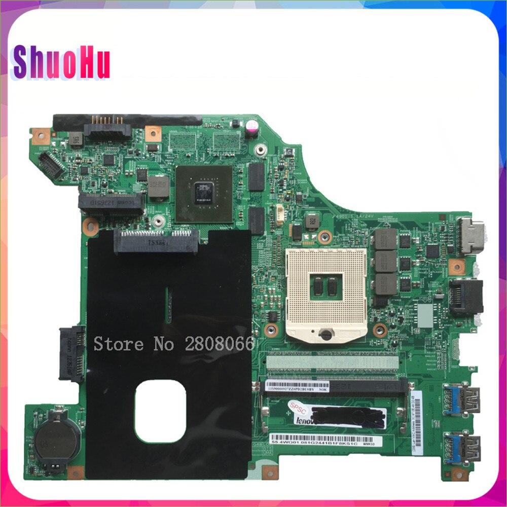 G480 para lenovo g480 computador portátil placa-mãe ddr3 hm76 intel 48.4wq01. 011 g480 original nova placa-mãe teste integrado kefu