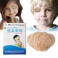 20PCS Soft Child Amblyopia Training Eyeshade Amblyopia Orthoptic Corrected Eye Patches Children Occlusion Medical Lazy Eye Mask