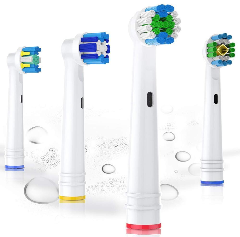 Ersatz Zahnbürste Köpfe für Oral B Elektrische Zahnbürste Voraus/Pro Gesundheit/Triumph/3D Excel/Vitalität