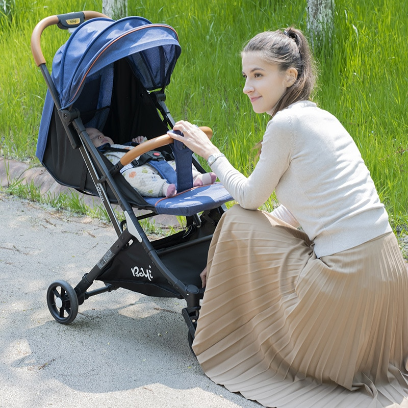 infant shining Baby Stroller 3 in 1 with Car Seat Multi-functional Lightweight High Landscape Newborn Pram for Newborn Baby enlarge