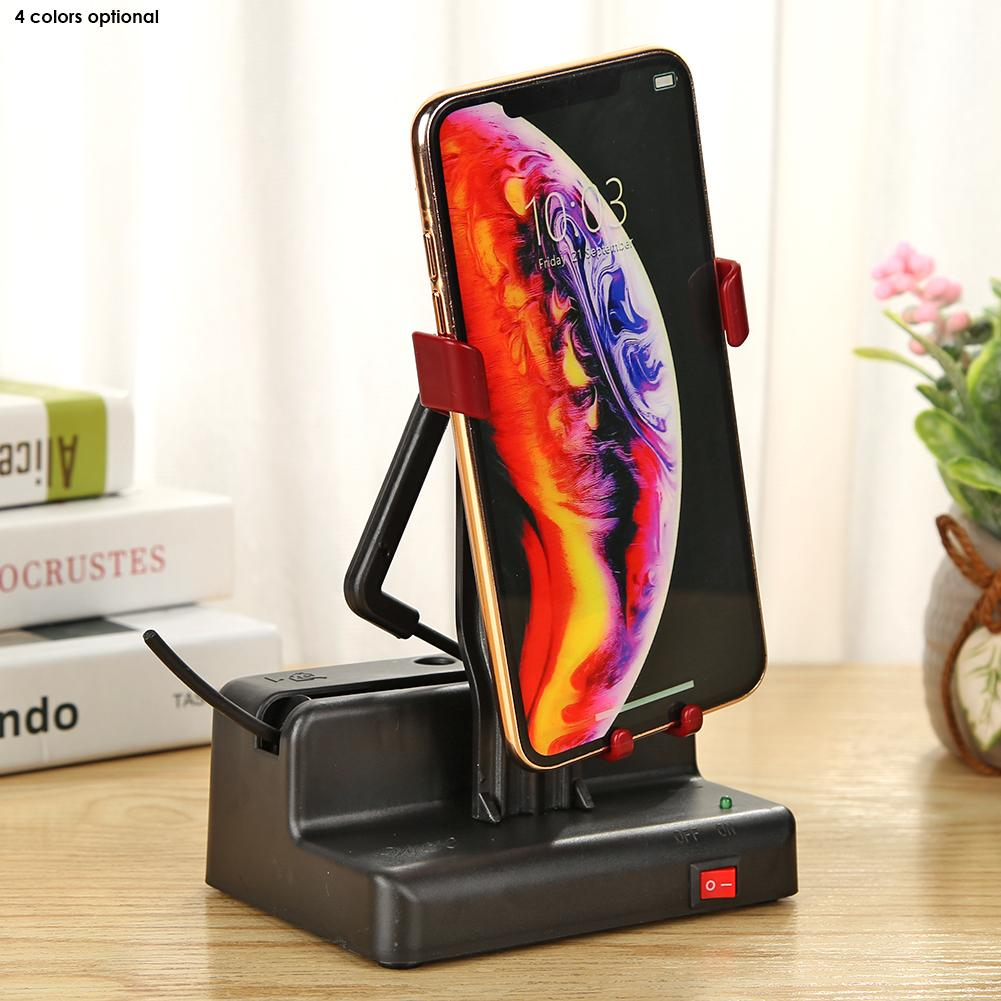 Phone Swing Automatic Shake Motion Brush Step Safety Wiggler with USB Cable Smart Automatic Phone Sh