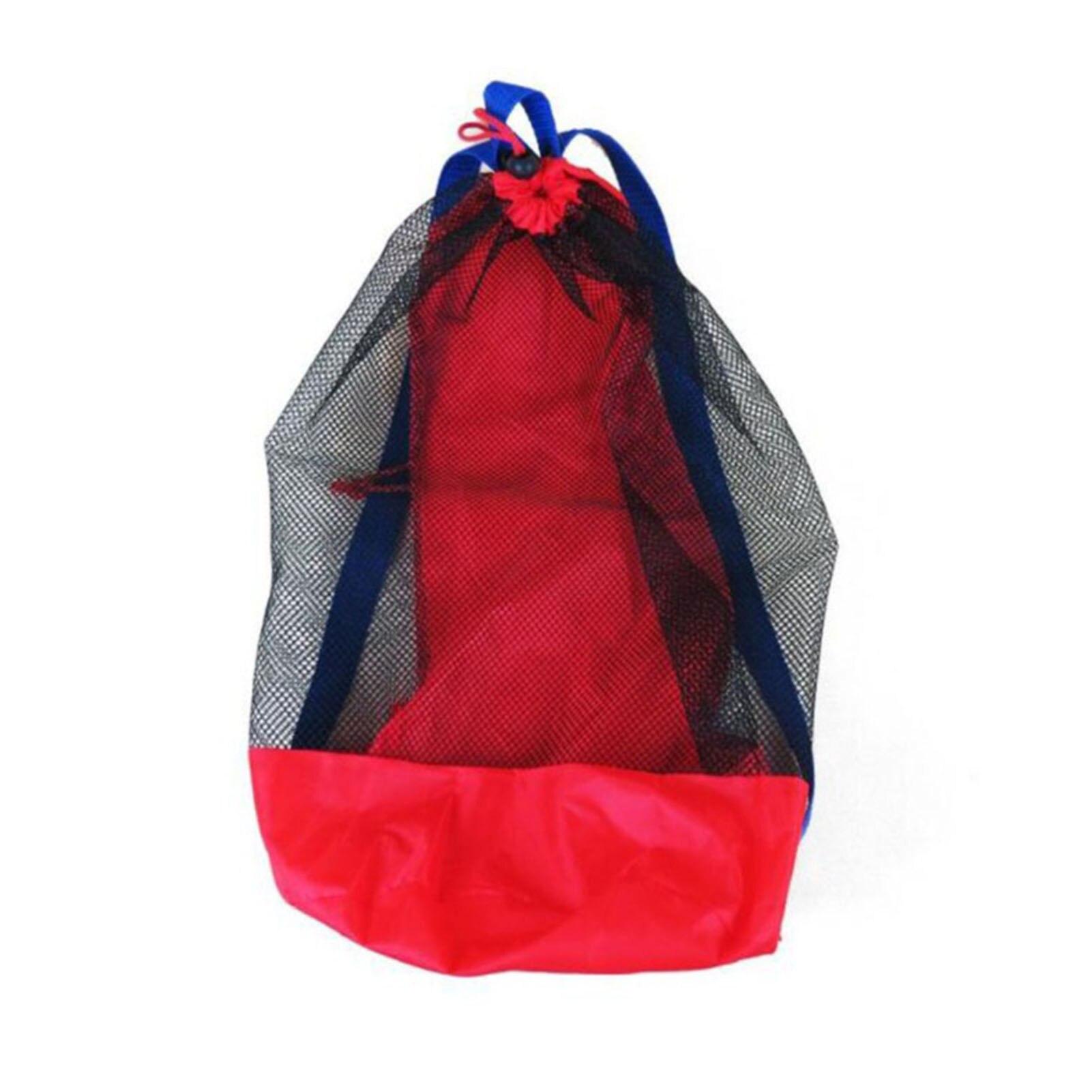 Портативные Детские сетчатые сумки для морского хранения, детская пляжная Сетчатая Сумка с песком для игрушек, водный спорт, одежда для ван...