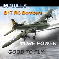 remote control glider fx817 b17 bomber 2ch resistance to falling stunt flying aircraft aerial fortress use epp materia fswb