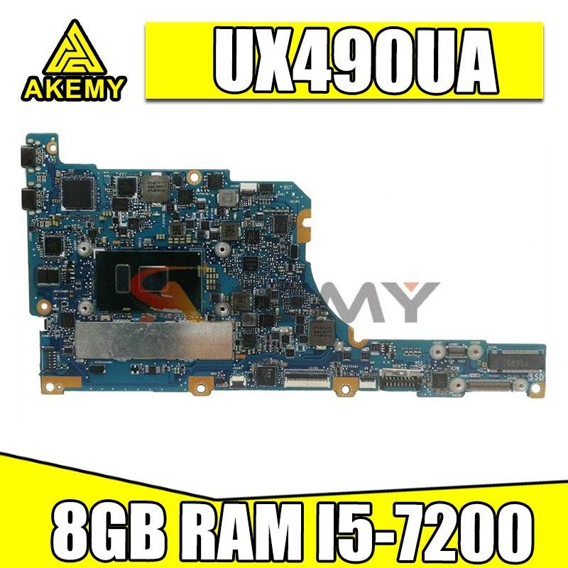 UX490UA اللوحة الرئيسية ث i5-7200U 8 جيجابايت ل ASUS UX490U UX490UA UX490UAR zenbook اللوحة الأم شحن مجاني