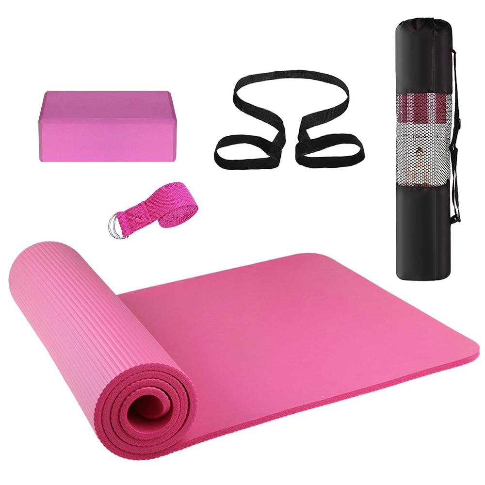 5 uds equipo de Yoga Kit de anillo de Pilates correa de algodón correa de resistencia banda de bucle figura banda de resistencia correa de estiramiento de ejercicio